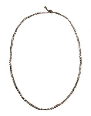Ожерелье CHAN LUU. Цвет: свинцово-серый