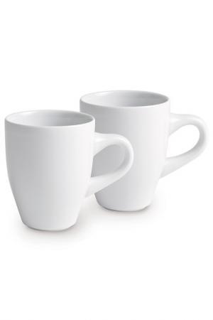 Чашка, набор 6шт/320мл KAHLA. Цвет: белый
