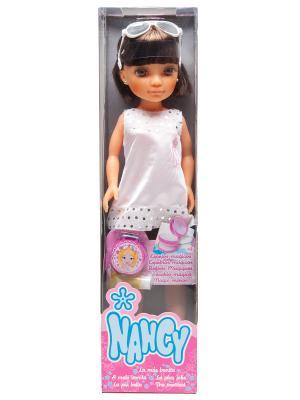 Кукла Ннси с короткой стрижкой Famosa. Цвет: розовый, голубой