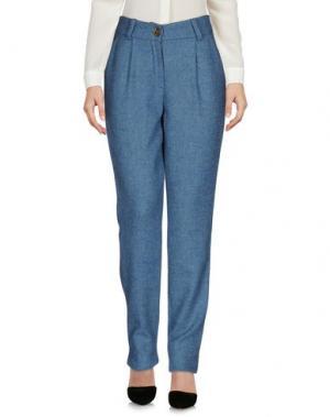 Повседневные брюки MICHEL KLEIN. Цвет: грифельно-синий