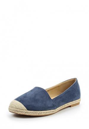 Эспадрильи Max Shoes. Цвет: синий