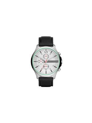 Часы Armani Exchange. Цвет: серебристый, черный