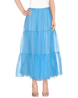 Длинная юбка ARTHUR ARBESSER. Цвет: лазурный