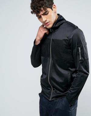 Dr Denim Куртка Rocco. Цвет: черный