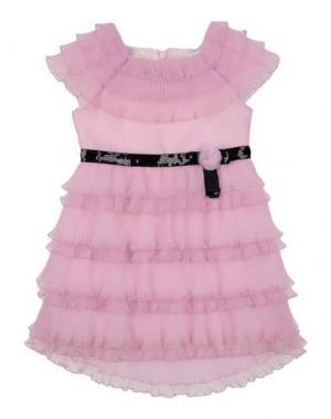 Платье I PINCO PALLINO I&S CAVALLERI. Цвет: светло-розовый