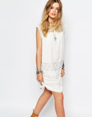 Gat Rimon Белое платье Fally. Цвет: белый