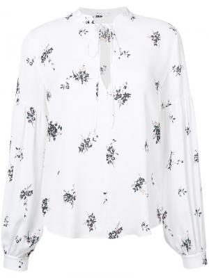 Рубашка с принтом A.L.C.. Цвет: белый