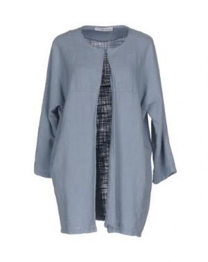 Легкое пальто CHILI PEPPERS. Цвет: грифельно-синий