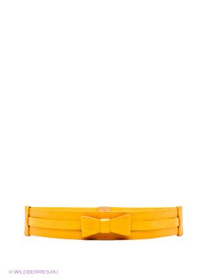 Ремень MONDIGO. Цвет: желтый