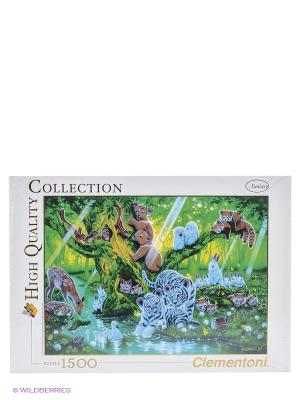 Пазл Кентаро Нишино Дерево мать, 1500 элементов Clementoni. Цвет: зеленый