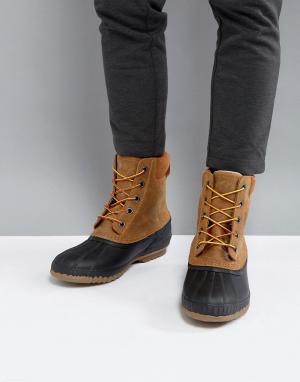 Sorel Коричневые водонепроницаемые ботинки Cheyanne. Цвет: коричневый