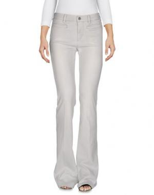 Джинсовые брюки MIH JEANS. Цвет: светло-серый