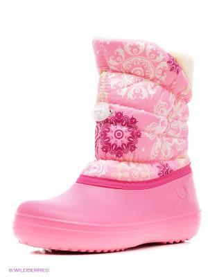 Дутики Дюна. Цвет: бледно-розовый