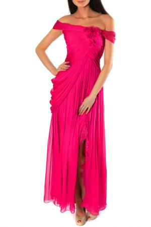 Платье Aftershock. Цвет: fuchsia