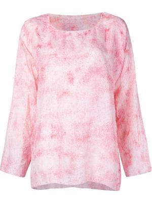 Свободная блузка Dosa. Цвет: белый