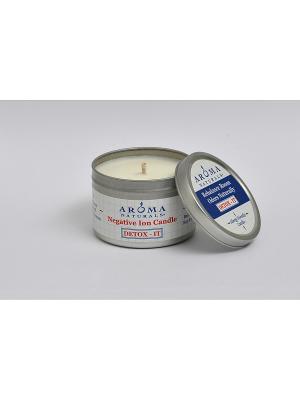 Соевые свечи Детокс, 80гр Aroma Naturals. Цвет: белый