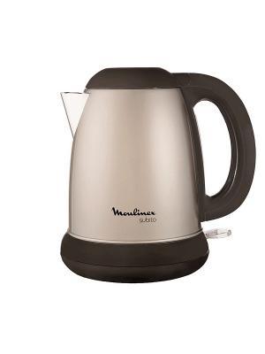 Чайник Moulinex BY540G30 1.7л. 2400Вт серебристый (металл). Цвет: белый