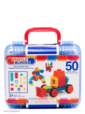 Конструктор игольчатый в чемоданчике Battat. Цвет: синий, красный