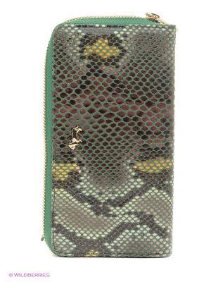 Кошелек Labbra. Цвет: зеленый