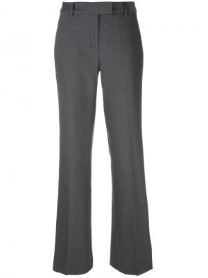 Расклешенные брюки Michael Kors. Цвет: серый