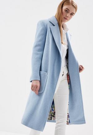 Пальто Magwear. Цвет: голубой