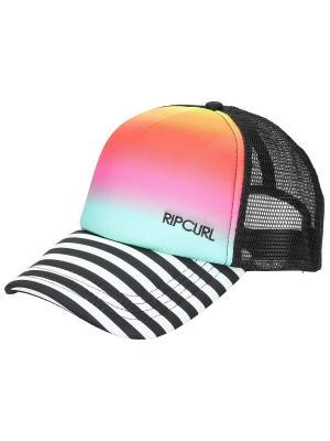 Кепка  COMBINED TRUCKA CAP Rip Curl. Цвет: черный, коралловый, белый