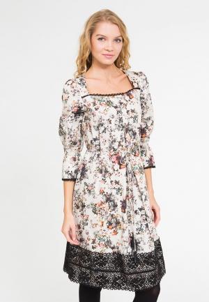 Платье Yaroslavna. Цвет: бежевый