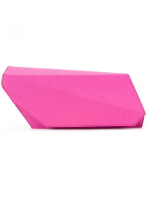 Клатч Angular Lamat. Цвет: розовый и фиолетовый
