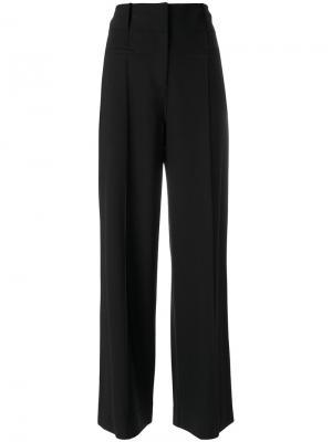 Строгие брюки Dvf Diane Von Furstenberg. Цвет: чёрный