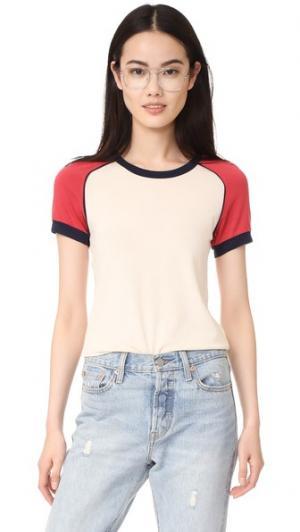 Винтажная футболка с короткими рукавами Stateside. Цвет: коричневый