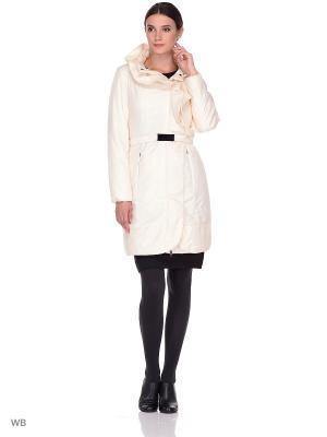 Пальто CATTAIL WILLOW. Цвет: молочный