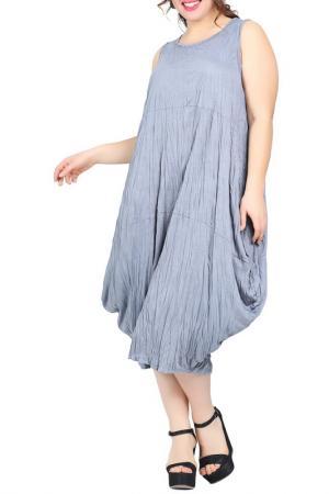 Платье VALERIA FRATTA. Цвет: light gray