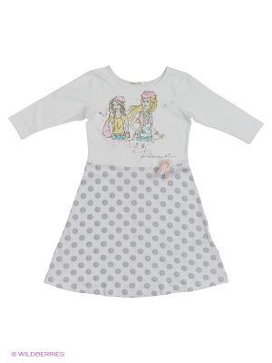 Ночная сорочка Ritta Romani. Цвет: белый, розовый, серый