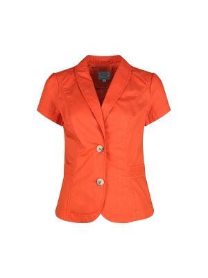 Жакет Finn Flare. Цвет: оранжевый
