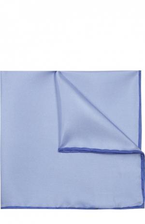 Платок Canali. Цвет: голубой