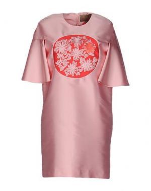 Короткое платье SPACE STYLE CONCEPT. Цвет: розовый