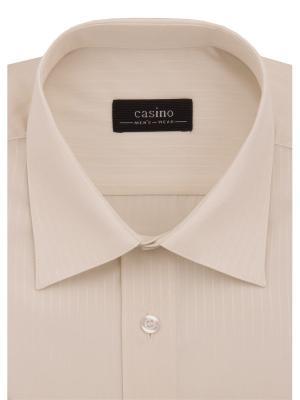 Рубашки CASINO. Цвет: бежевый