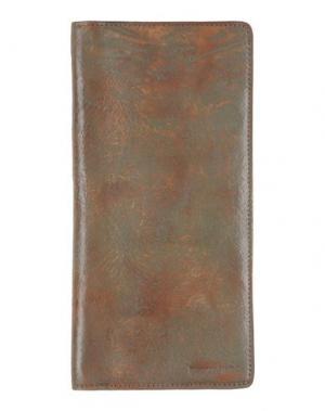 Чехол для документов DSQUARED2. Цвет: темно-зеленый