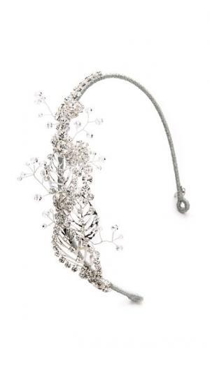 Обруч Lazuline I с кристаллами Jenny Packham. Цвет: кристально-серебряный