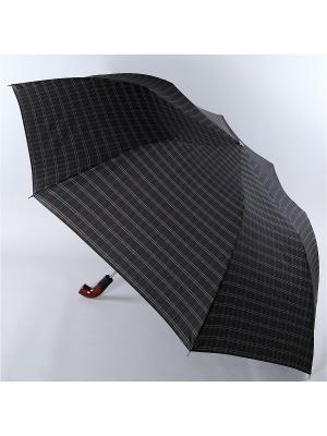 Зонт Trust. Цвет: черный, светло-серый