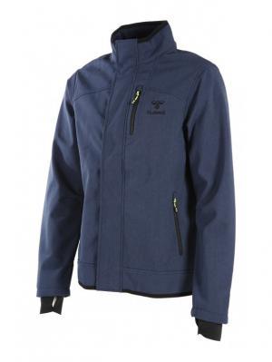 Куртка CLASSIC BEE MENS SOFTSHELL HUMMEL. Цвет: синий