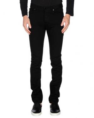 Повседневные брюки RAF BY SIMONS. Цвет: черный
