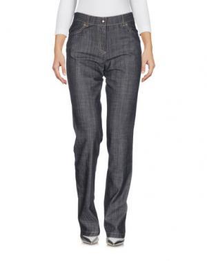 Джинсовые брюки KEN BARRELL. Цвет: синий