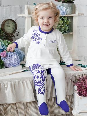Ползунки,2 шт. Lucky Child. Цвет: фиолетовый, белый