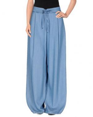 Повседневные брюки KAOS JEANS. Цвет: синий
