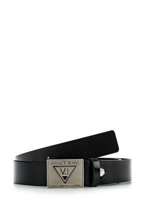 Ремень Versace Jeans. Цвет: черный