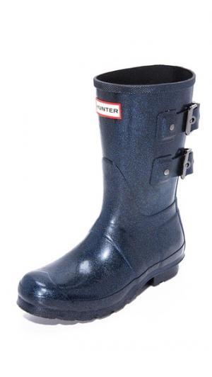 Оригинальные короткие сапоги Hero Hunter Boots. Цвет: нептун
