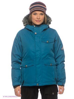 Куртка BONFIRE. Цвет: синий