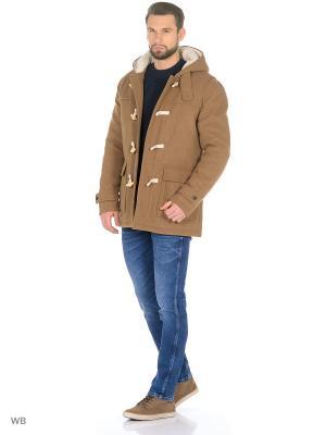Пальто SELECTED. Цвет: коричневый