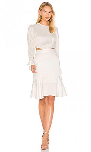 Платье benson Marissa Webb. Цвет: белый
